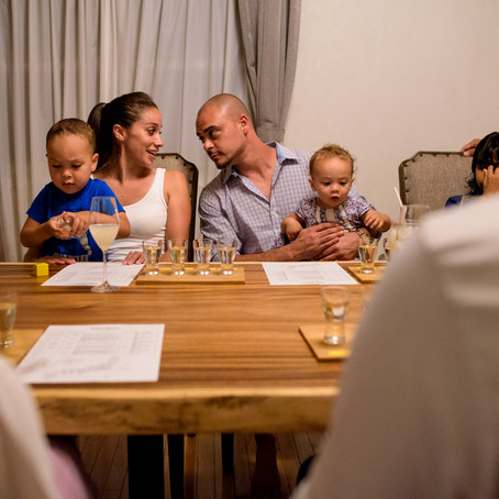 Sake Skills: An Evening with the Whites