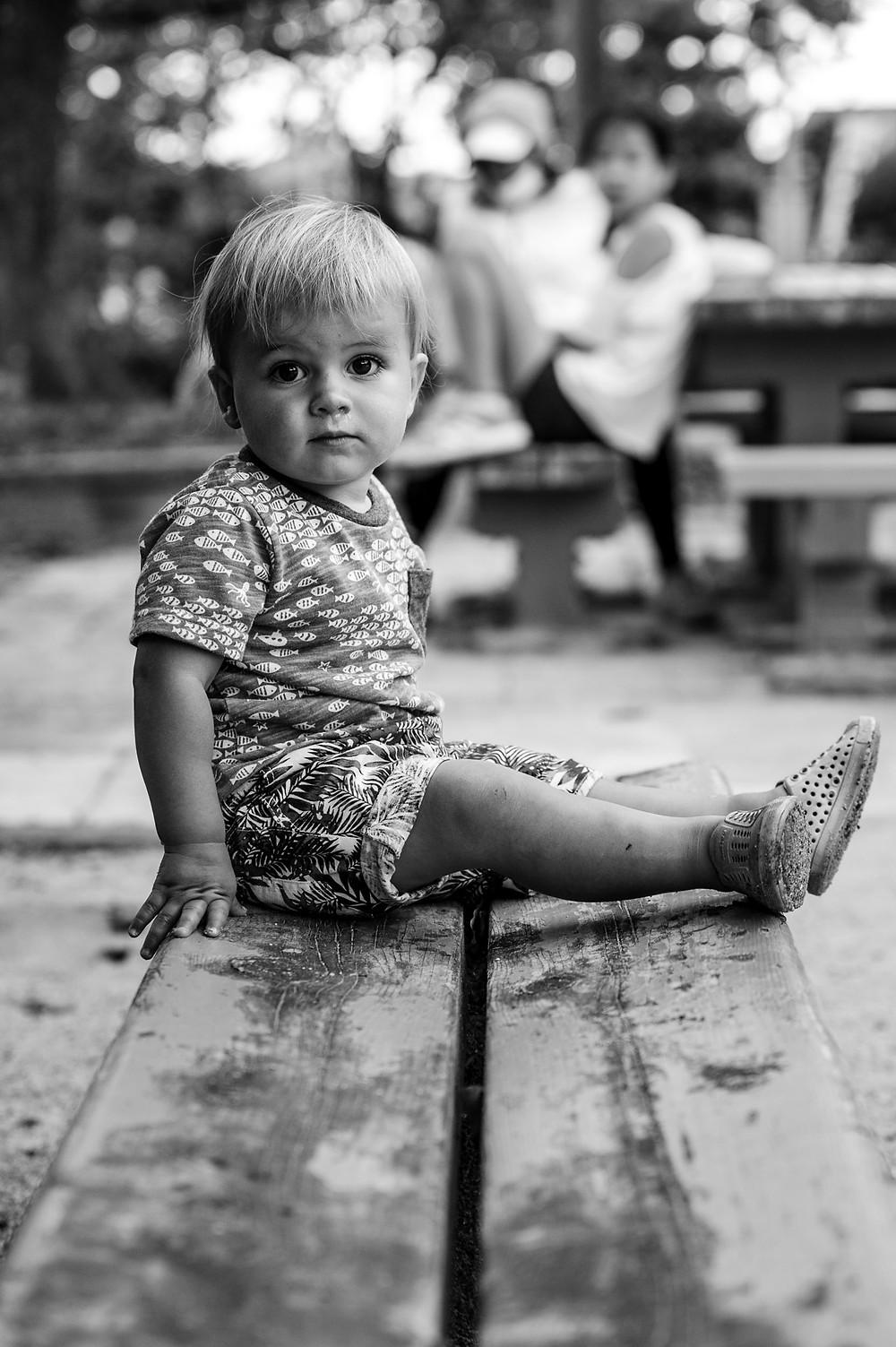 Max at the park