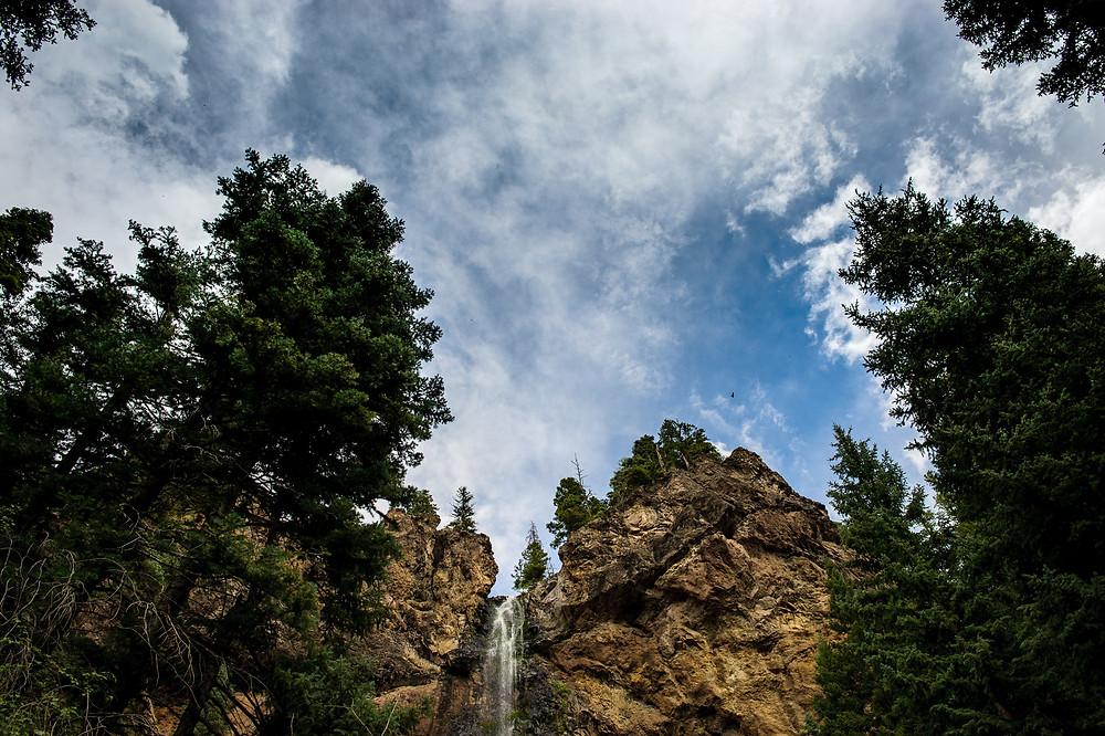 Colorado skies in Wolf Creek Pass