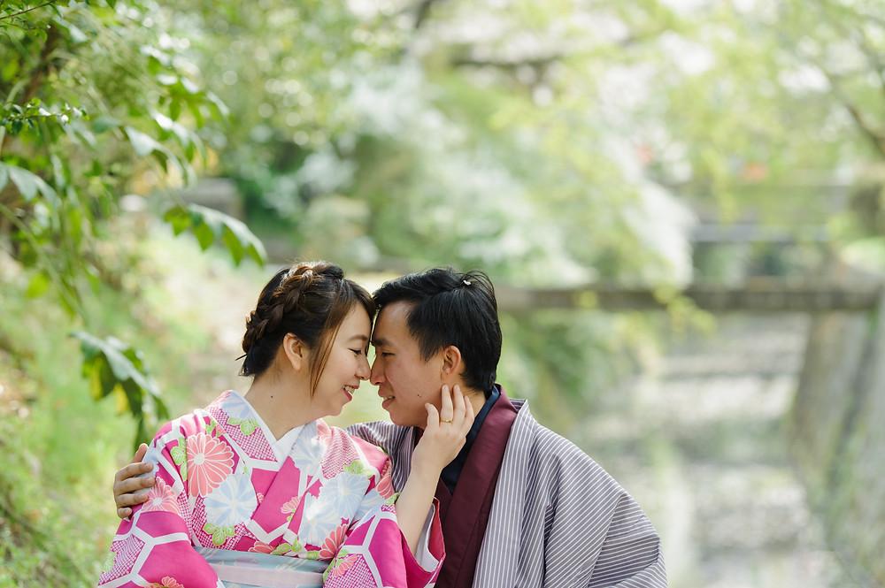 In love in Kyoto