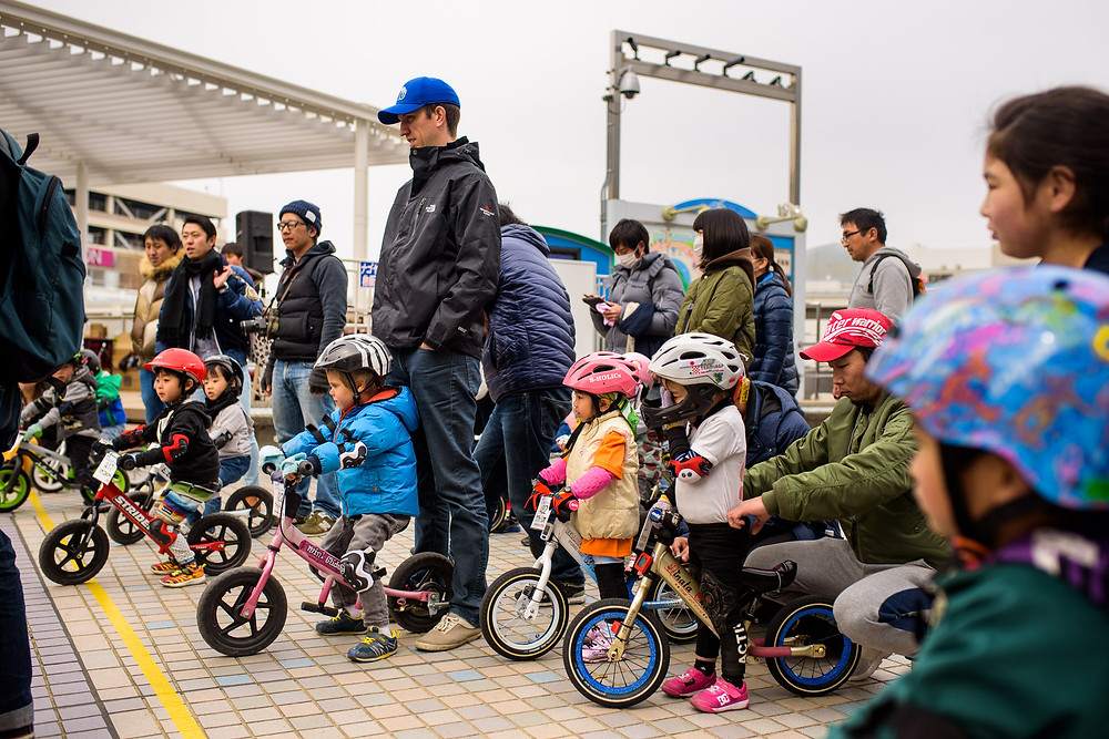 strider bike races for kids