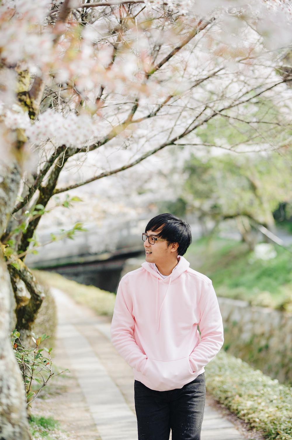 Blas under the Sakura
