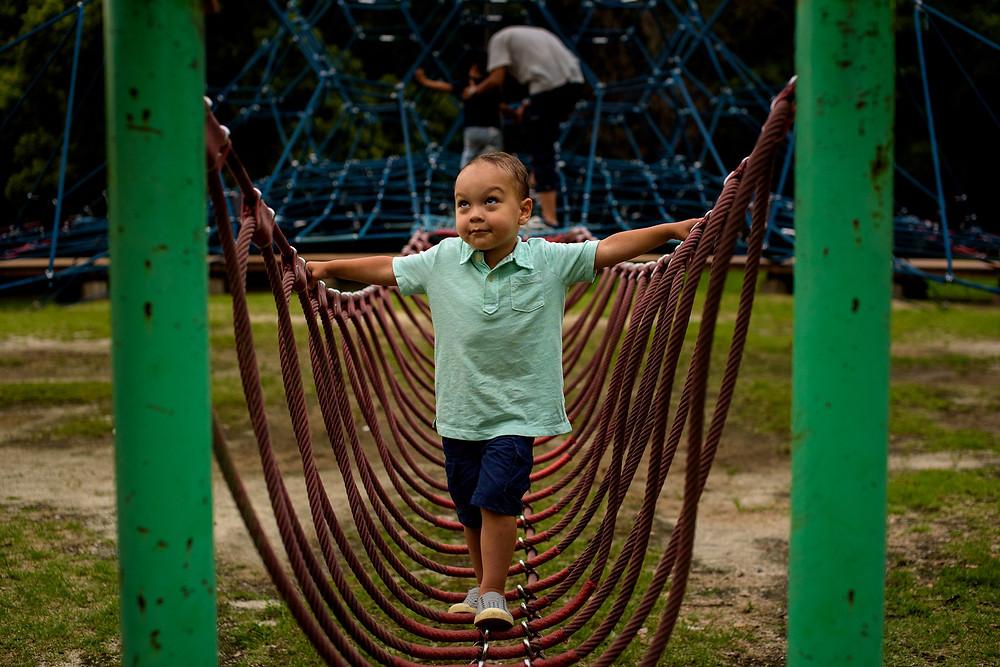 braxton on the playground