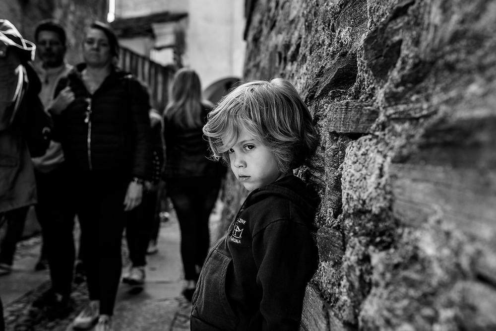 dean grumpy in Lago d'Orta
