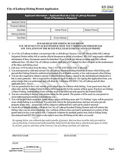 City of Lathrop Fishing Permit Application Form, Page 1 v1 final sample.docx.jpg