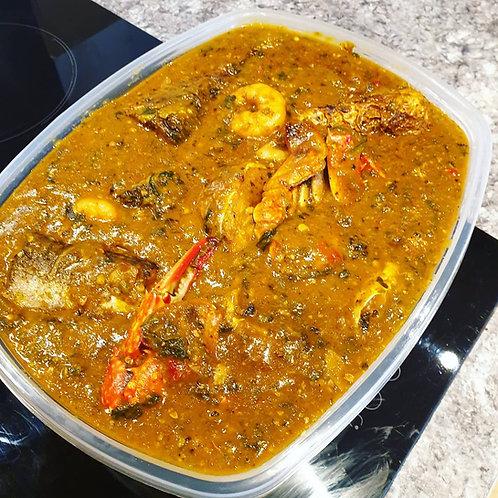 Ogbono / Mixed Okro Soup