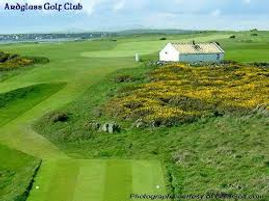 Ardglass Golf Course is well worth playing. It is beside the sea, has great views and challenging Golf