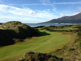 This is the 9th on The Annesley Course at Royal County Down