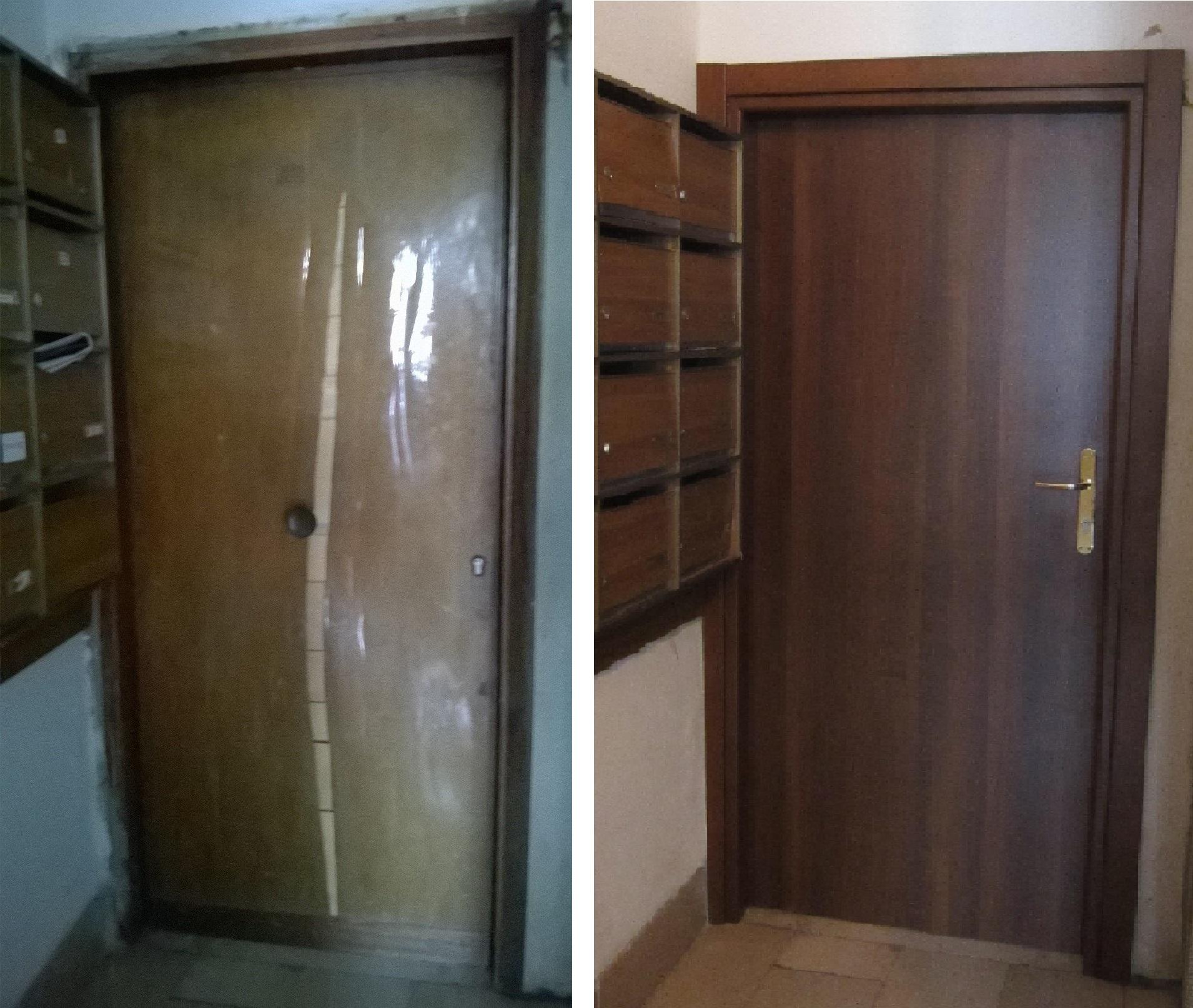 porta in legno da interno