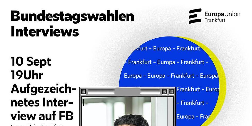Bundestagswahlen Interview mit Kaweh Mansoori von SPD