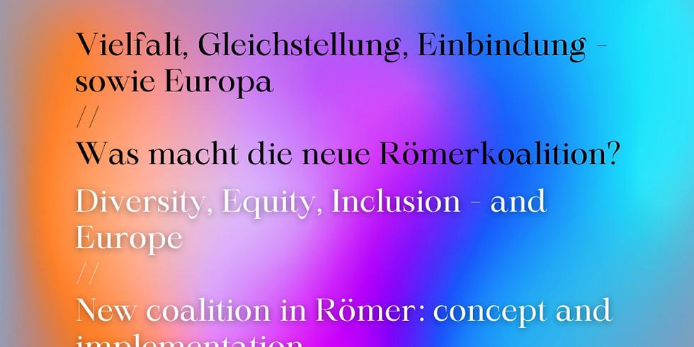 Offener Vorstand - Schwerpunkt Europaampel Frankfurt (DE/EN)