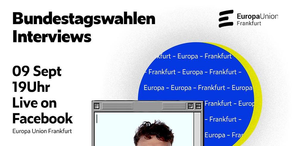 Bundestagswahlen Interview mit Maximilian Zänker von VOLT