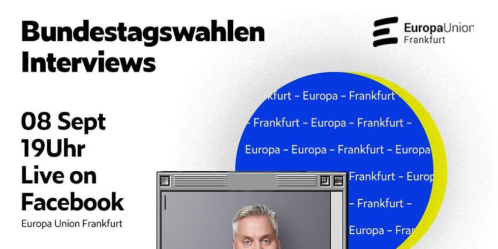 Bundestagswahlen Interview mit Axel Kaufmann von CDU