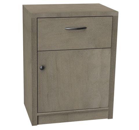 One Drawer/ One Door Bedside Cabinet