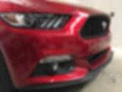 Ford Mustang front parking sensor