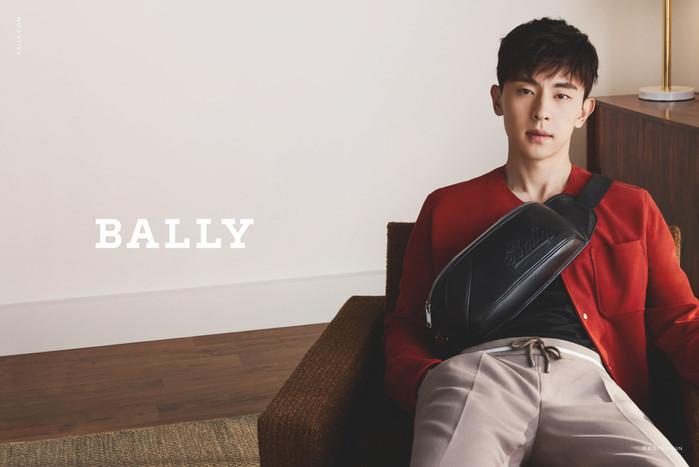 中国新晋男星邓伦成为Bally代言人