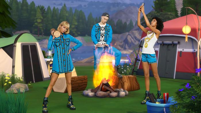 Moschino以Sims游戏为灵感的胶囊系列