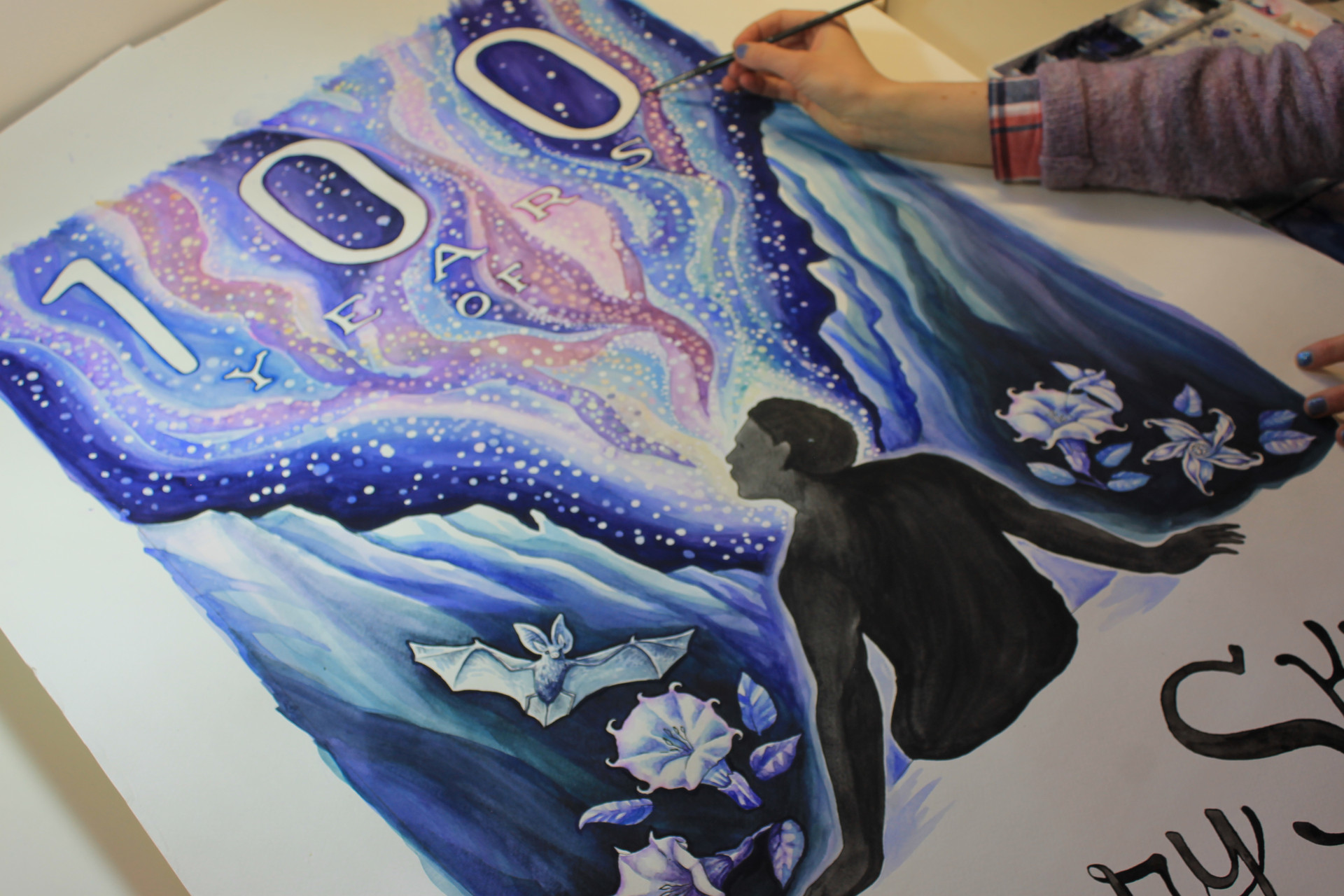 starry skies first draft