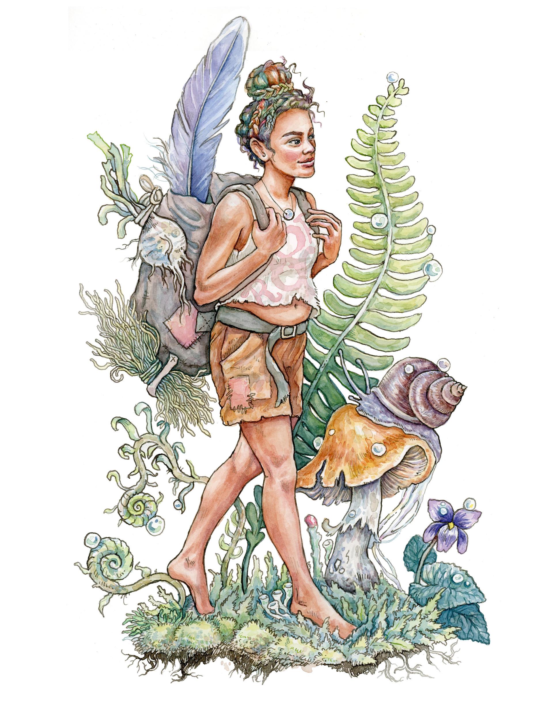 Thumbelina Retold