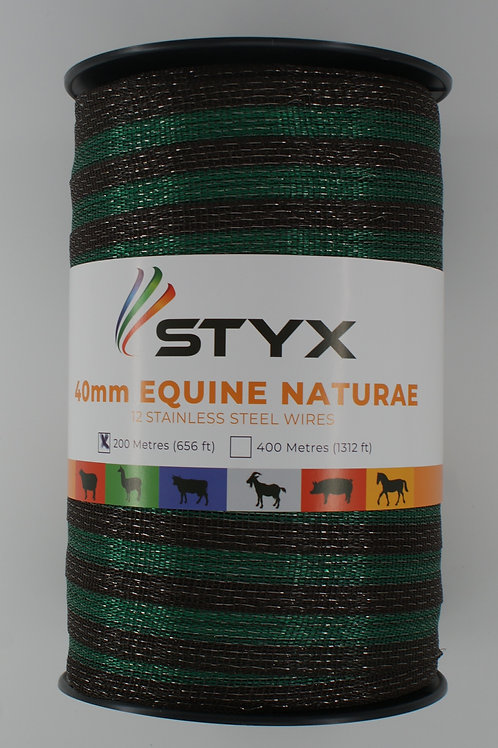 Equine Naturae - Brown Green Brown - 40mm wide x 200m