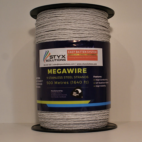 Megawire/Braid 9 S/S wires - 500m