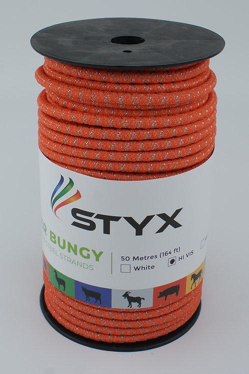 High Vis Orange Bungy x 50m