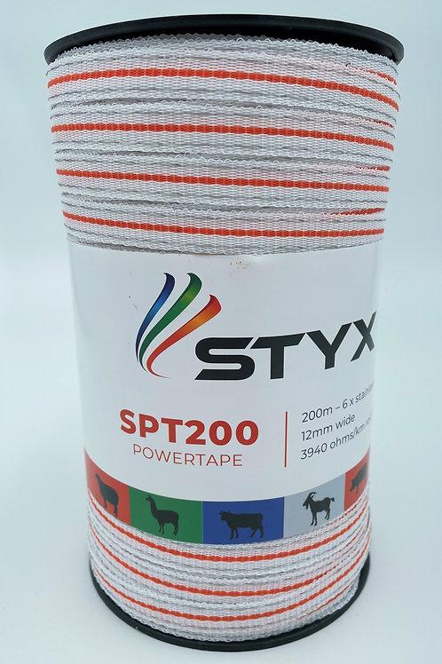 Powertape 6 x S/S wires, 12mm wide x 200m