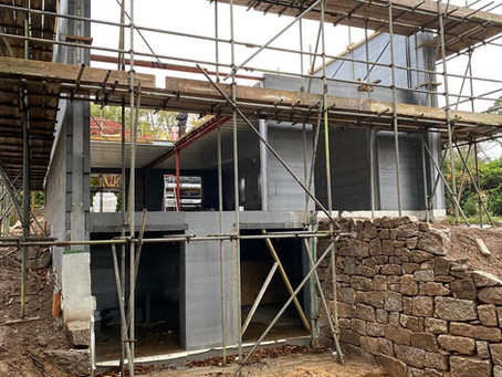 R-WALL demonstrates its versatility! Canter leavers, basements and maximising Thermal Mass!