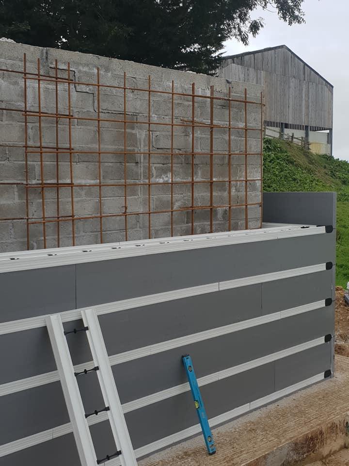 Retaining blockwall 2