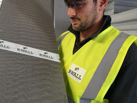 What makes the new R-WALL different from other typical ICF systems?
