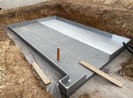 R-WALLS under slab R-Floor system