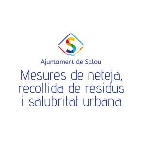 Mesures de neteja, recollida de residus i salubritat urbana