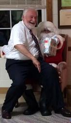 Pastor Bob and Santa