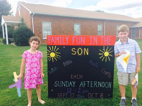 Family Fun in the Son event