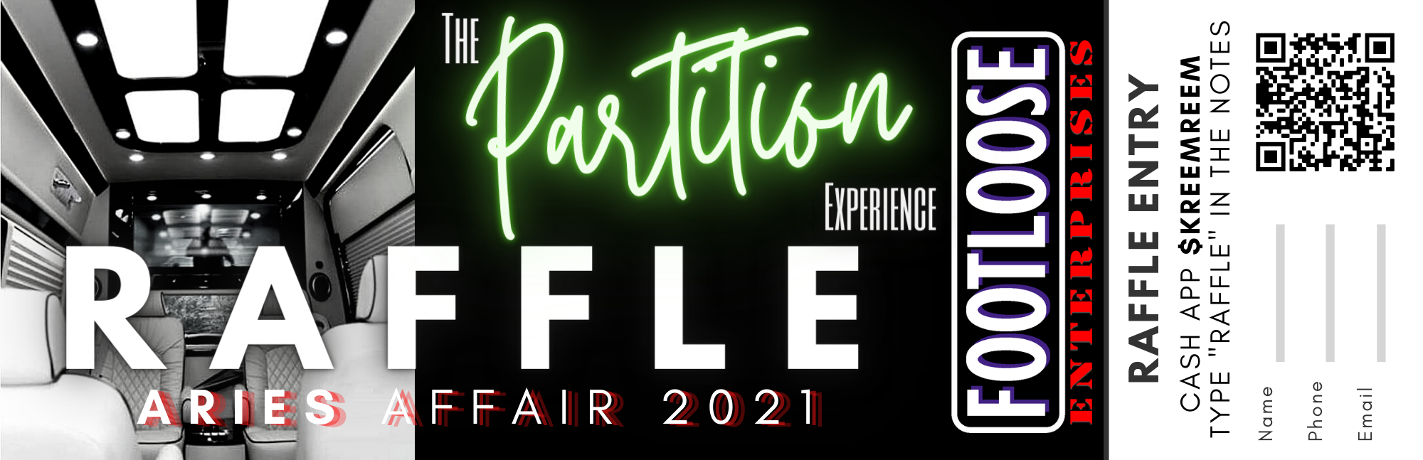 The Partition Experience Raffle 2