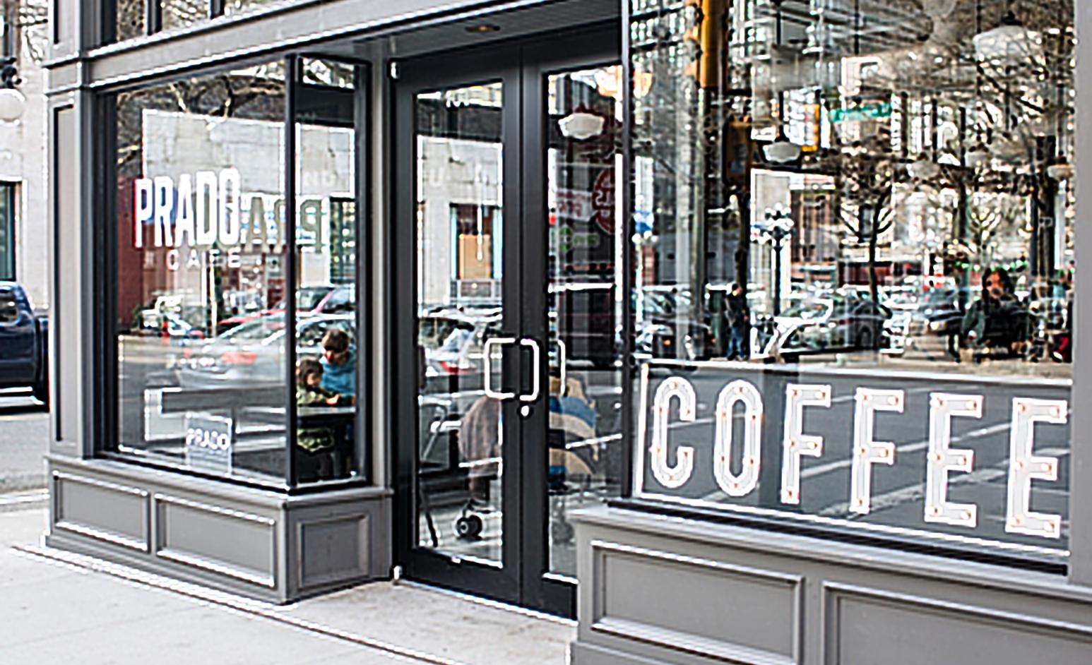 Prado Cofee shop | Front view - M8TRIX5.com Development