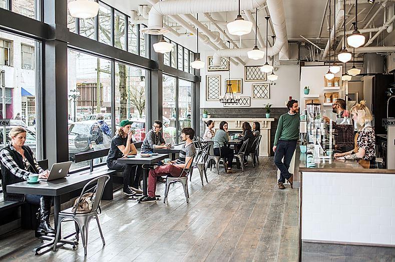 Prado Cofee shop | Interior view - M8TRIX5.com Development
