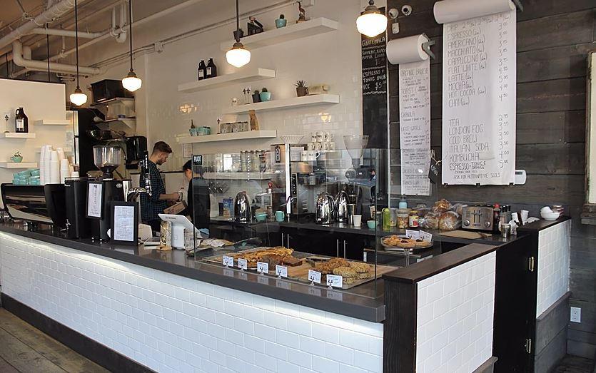 Prado Cofee shop | Main counter - M8TRIX5.com Development