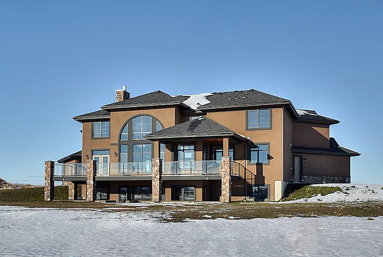 Estate home | Rear view - M8TRIX5.com Development