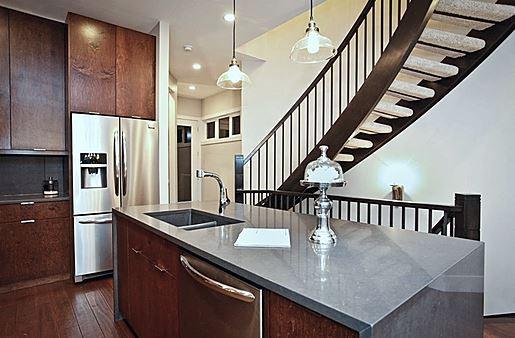Single family home | Kitchen/Staircase 2 - M8TRIX5 Development