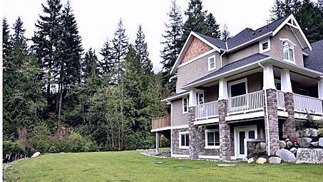 Estate home | Rear view 2 - M8TRIX5.com Development
