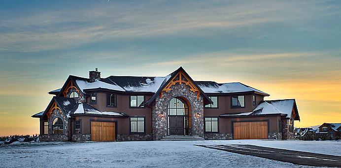 Estate home | Front view - M8TRIX5.com Development