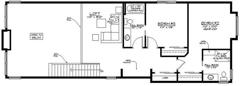 Radant Floorplan Upper