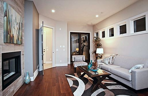 Single family home | Living room 1 - M8TRIX5 Development