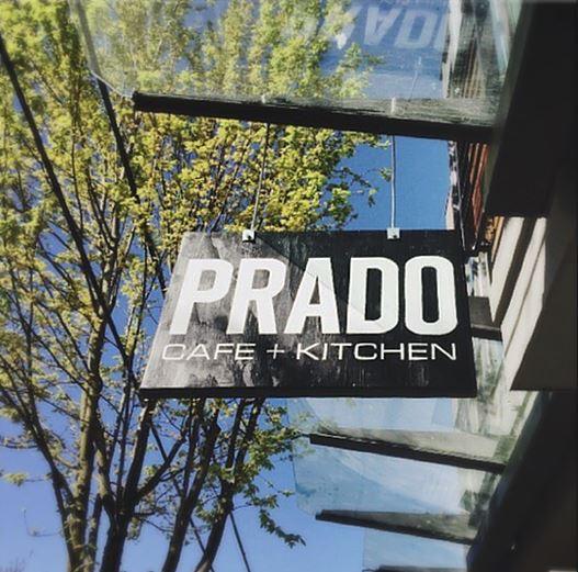Prado Cofee shop | Front sign - M8TRIX5.com Development