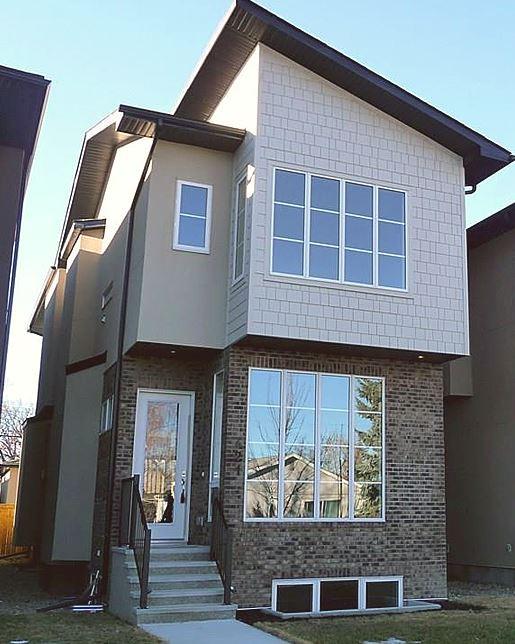 Single family home | Rear view - M8TRIX5 Development