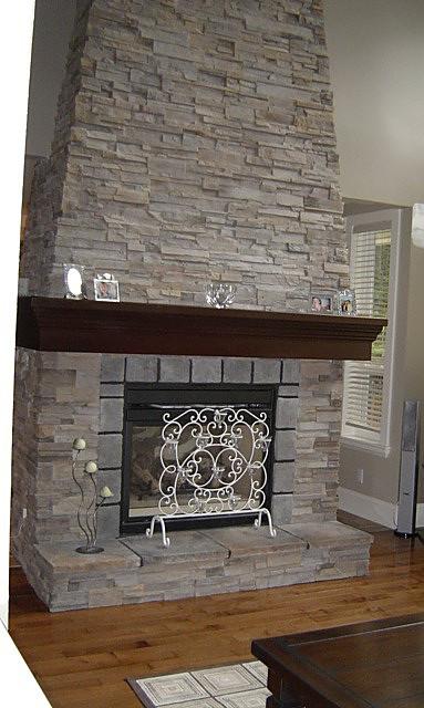 Single family home | Fireplace - M8TRIX5 Development