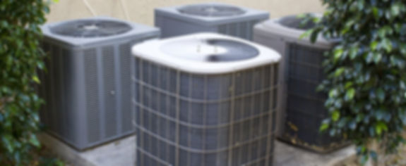 Out door American Standard air conditioning units