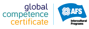 The AFS Intercultural Program Global Competence Certificate logo