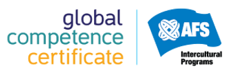 The Global Competence logo withe the AFS Intercultural Programs logo